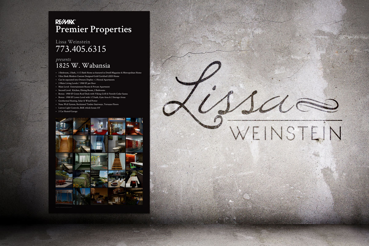 Lissa Weinstein 3ft x 6ft Property Poster 1