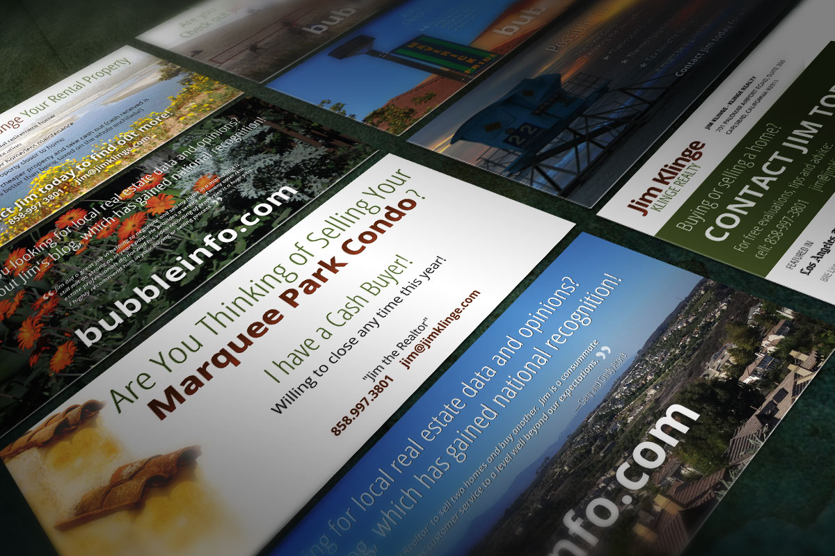 Various Rack Card Designs for Klinge Realty 9