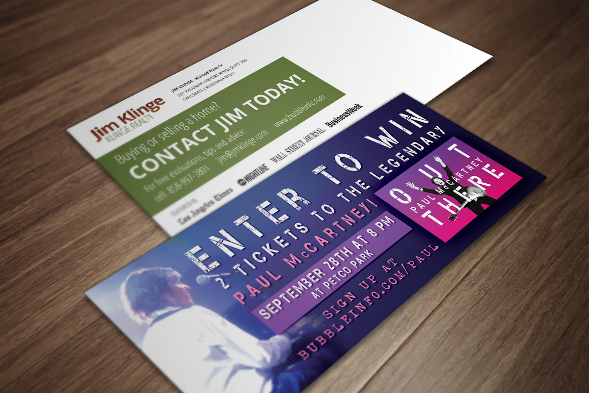 Concert Ticket Promotion - Klinge Realty 6