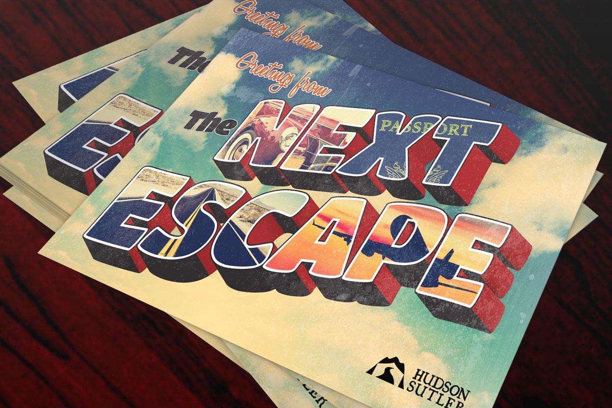 The Next Escape Postcard 1