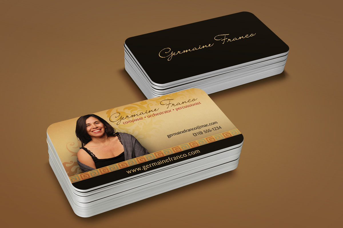 Germaine Franco Business Card 1