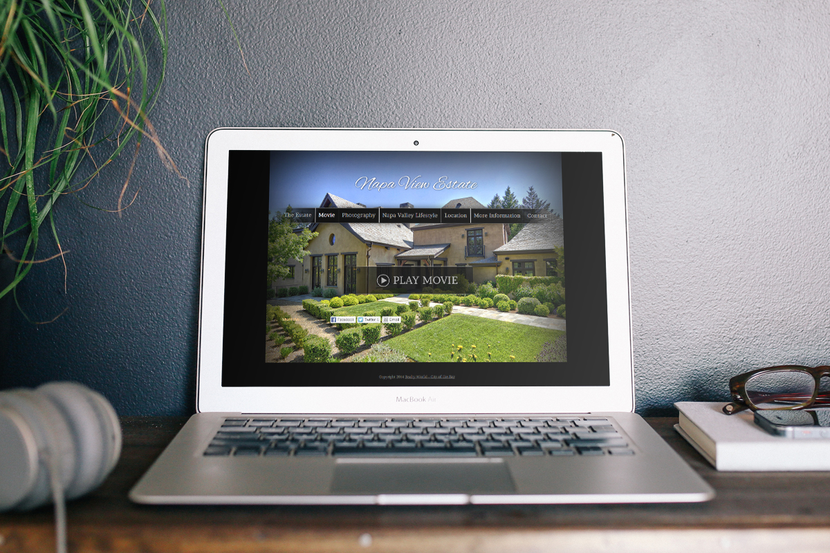 Napa View Estate Website 2