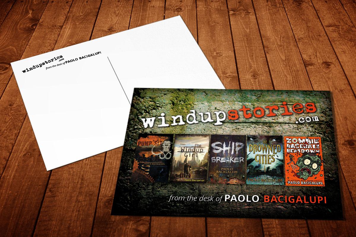 Paolo Bacigalupi Postcard 1