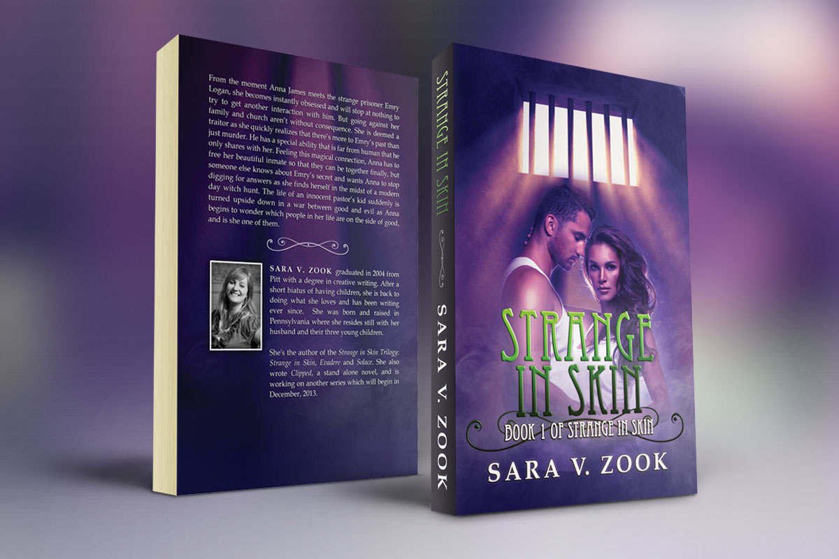 Strange In Skin by Sara V. Zook 1