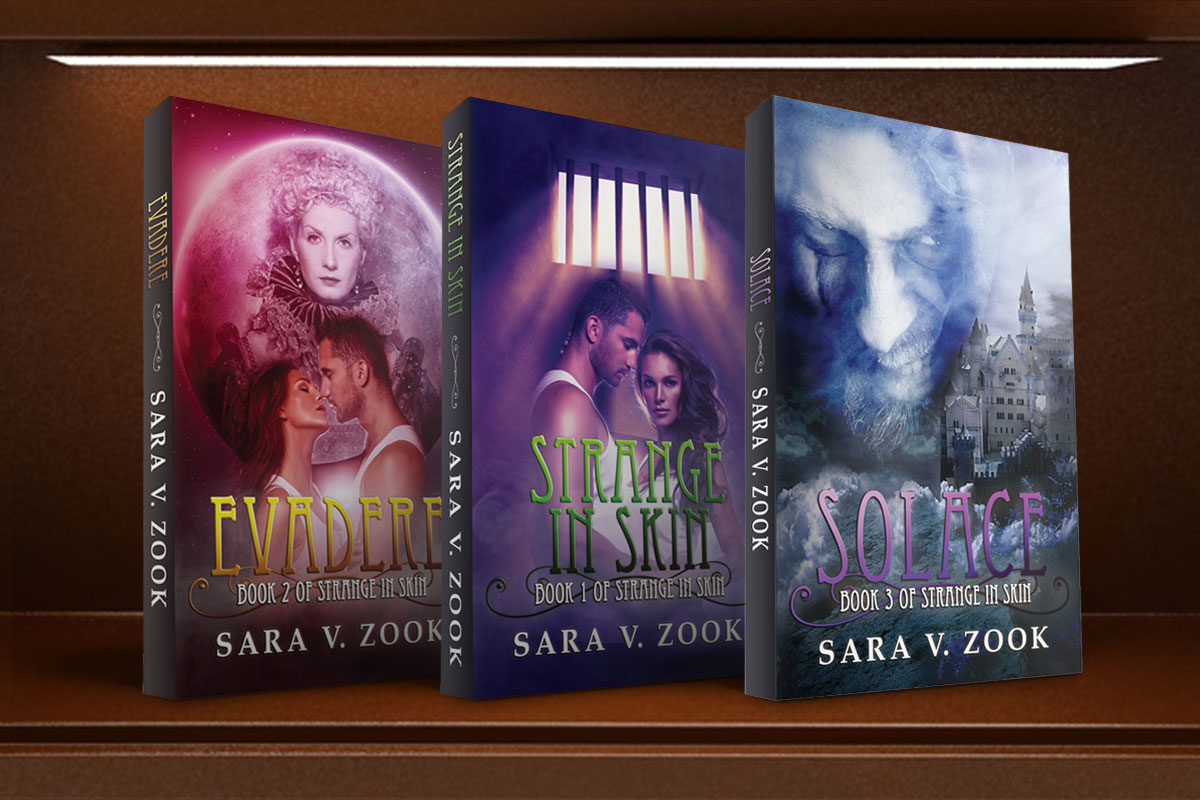 Strange In Skin Trilogy by Sara V. Zook 1