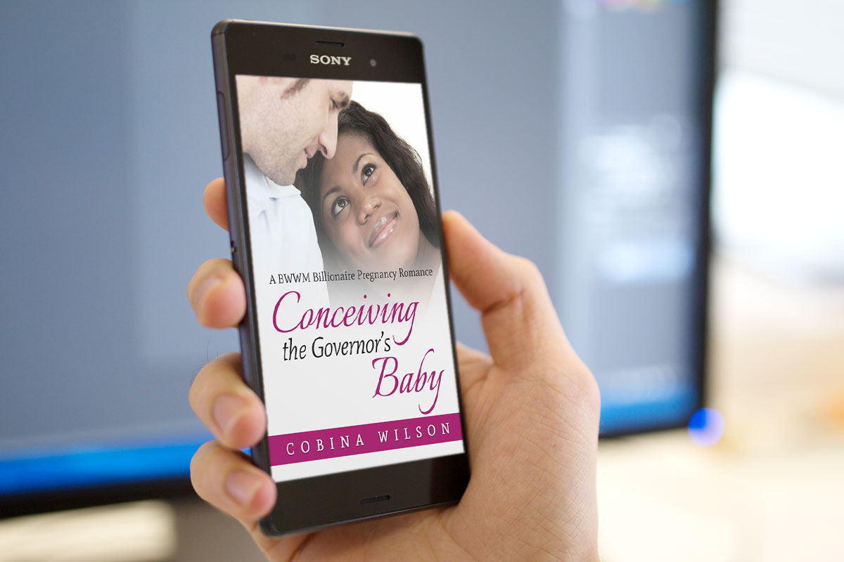 Conceiving The Governor's Baby by Cobina Wilson 1