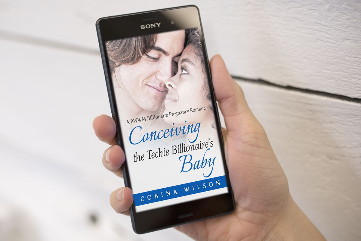 Conceiving The Techie Billionaire's Baby by Cobina Wilson 1