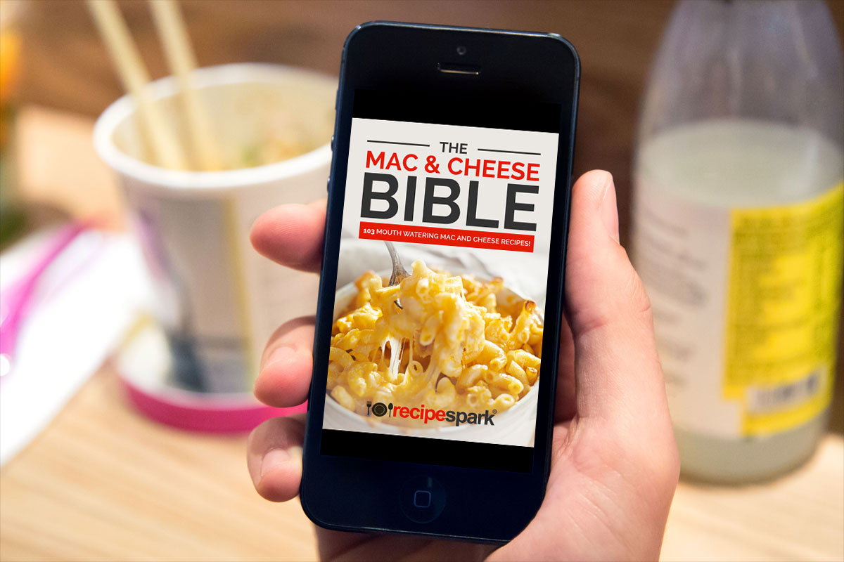 The Mac & Cheese Bible by Recipe Spark 1