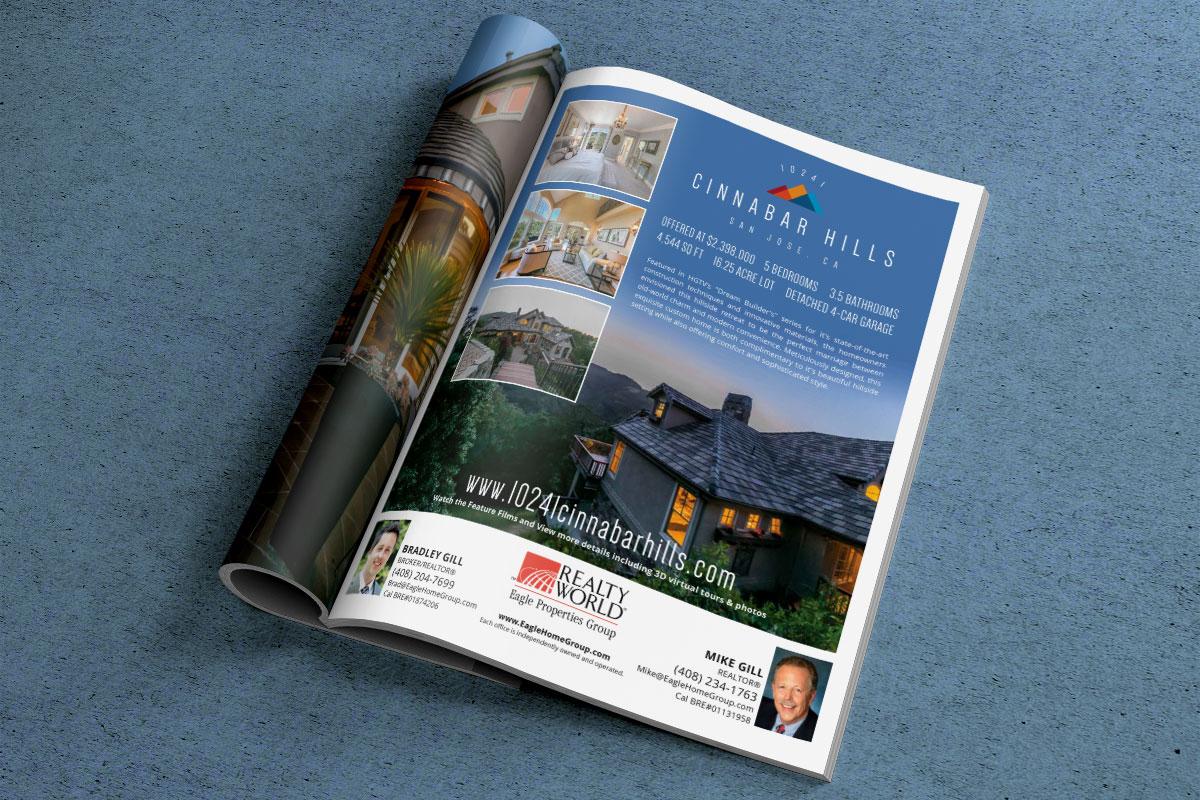 10241 Cinnabar Hills - Magazine Ad 1