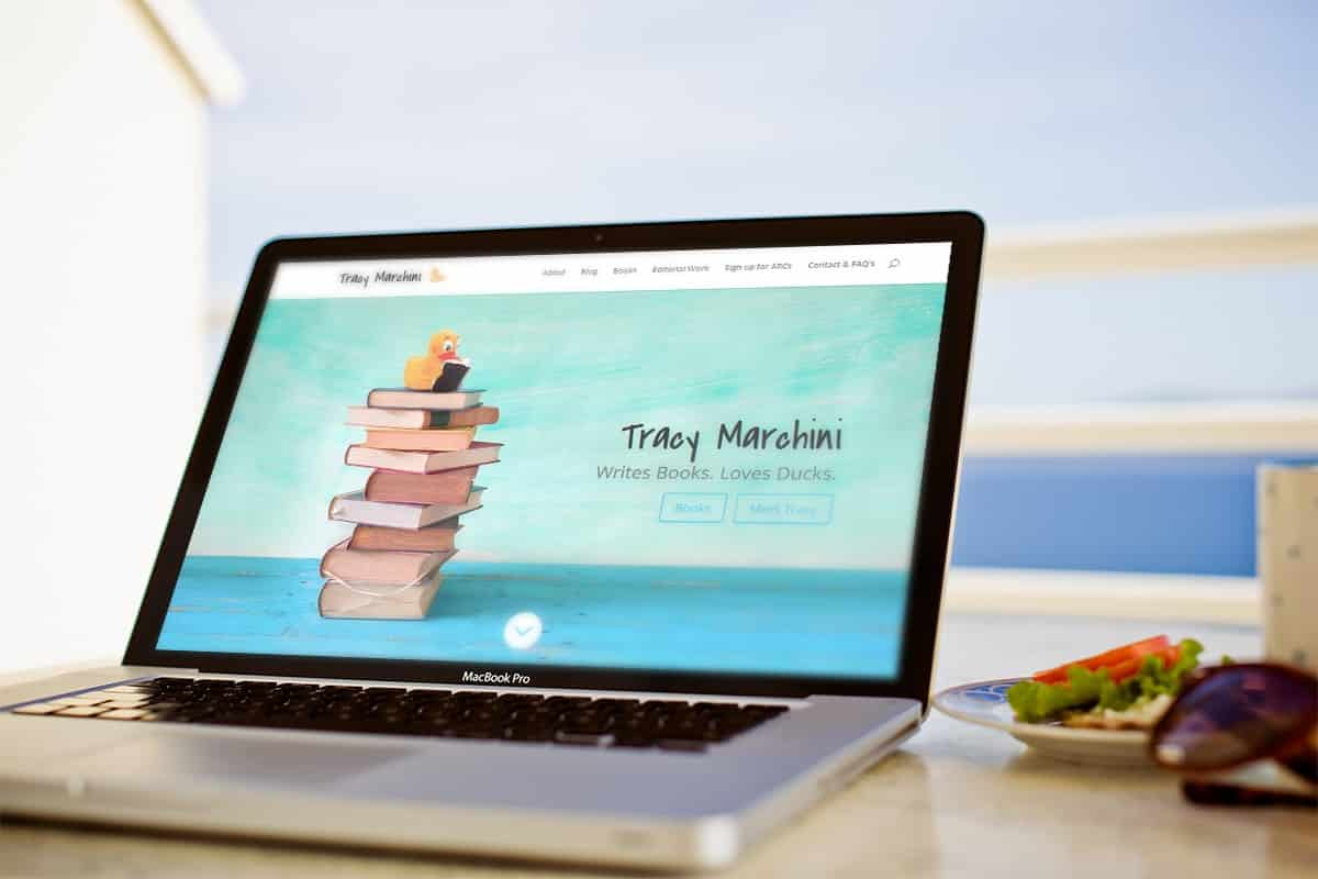 Tracy Marchini - Author Website 1