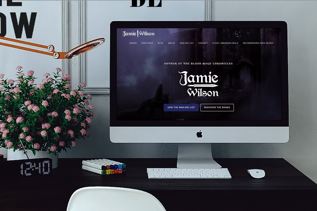 Jamie Wilson - Author Website 1